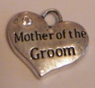 Mother Of The Groom Earrings - Drop Charm Style